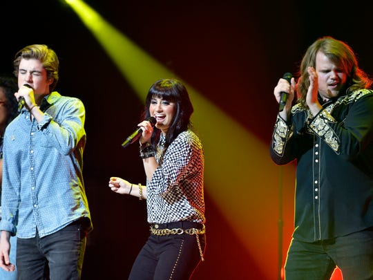 The American Idol LIVE! 2014 Tour made a stop at the Peace Center in Greenville on Tuesday, July 22, 2014.