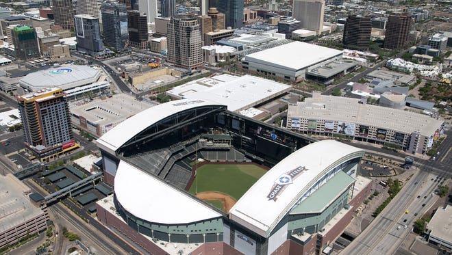 The Arizona Diamondbacks might get a new stadium downtown if an out-of-state investor group has its way.