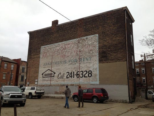 The future home of the Ezzard Charles mural.