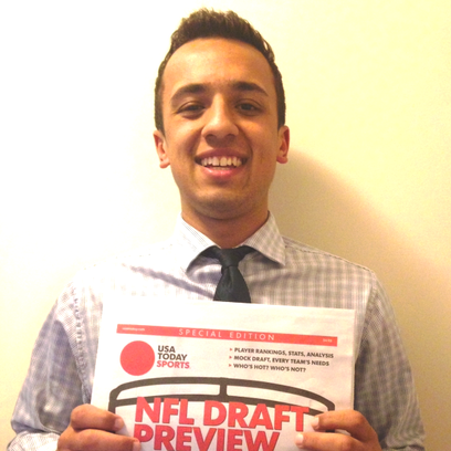 Livonia Stevenson graduate Nolan Vasan operates nfldraftgeek.com and is a special contributing writer for USA Today's NFL Draft Preview publication.