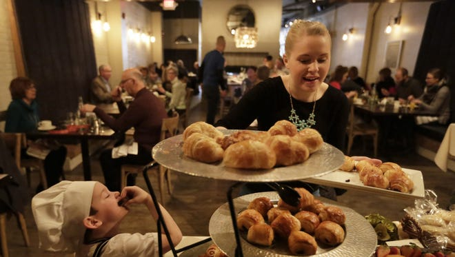 The Post-Crescent hosted a brunch with Rye in downtown Appleton on Jan. 24.