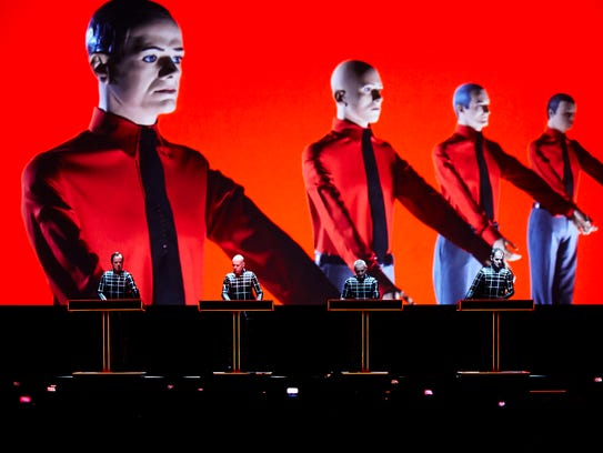 Kraftwerk will headline the 2016 Movement festival