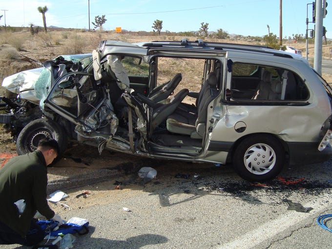Johannes Gysen, 61, a Yucca Valley bus driver, was
