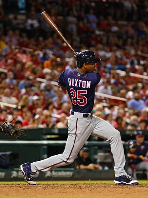 Byron Buxton is hitting .189 in 11 games, with at least one strikeout in all but one of them.