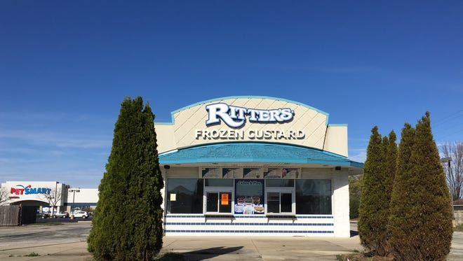 This Ritter's Frozen Custard near McGalliard and Morrison roads will be razed for an ATI Physical Therapy clinic.