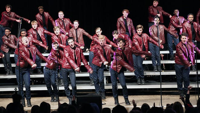 Fairfield Schools added its fourth show choir, the all-male  FortissiBROS, to its roster this year. They will present an exhibition  performance at Saturday's Crystal Classic show choir competition.