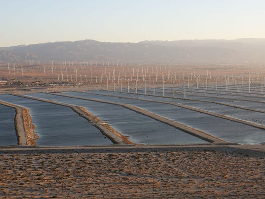 percolation ponds, aquifer, water, drought, palm springs,