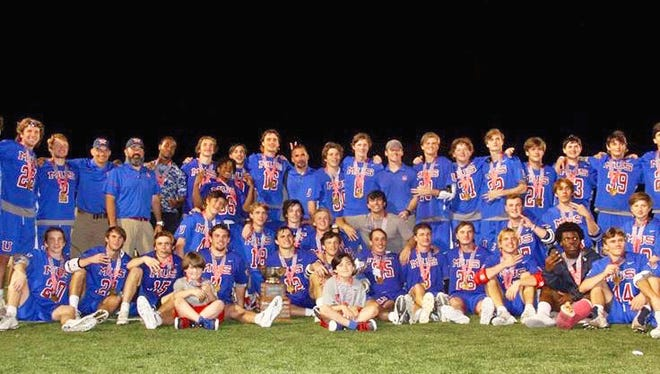 The MUS lacrosse team won its third straight state title over the weekend and seventh in the last eight years.