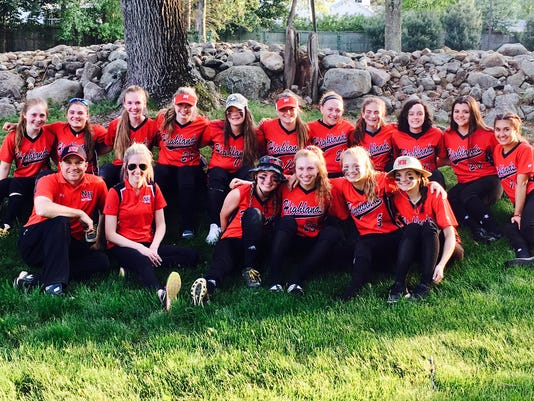 Northern Highlands softball