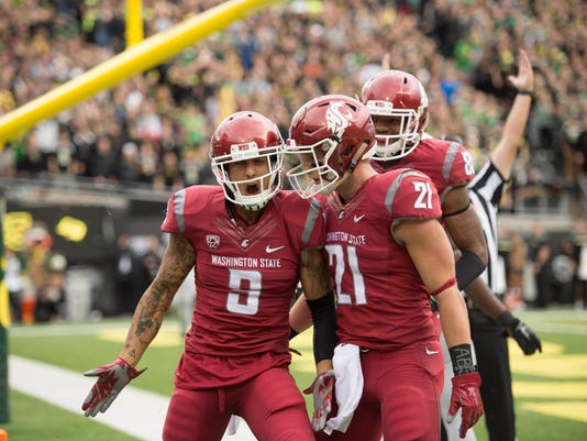 NCAA Football: Washington State at Oregon