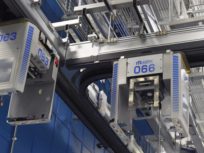 A view of the Automation and Materials Handling System,