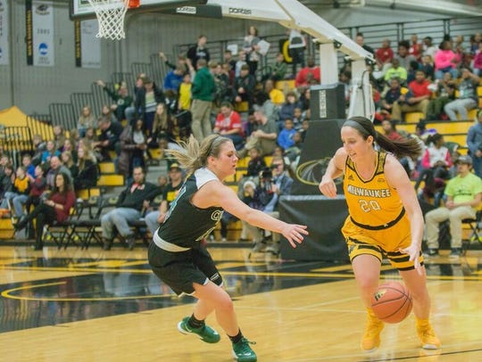 Jenny Lindner, a Neillsville grad, is the UW-Milwaukee