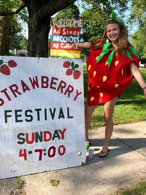A photo from the 2019 Strawberry Festival at the First Church of Christ Unitarian, in Lancaster.