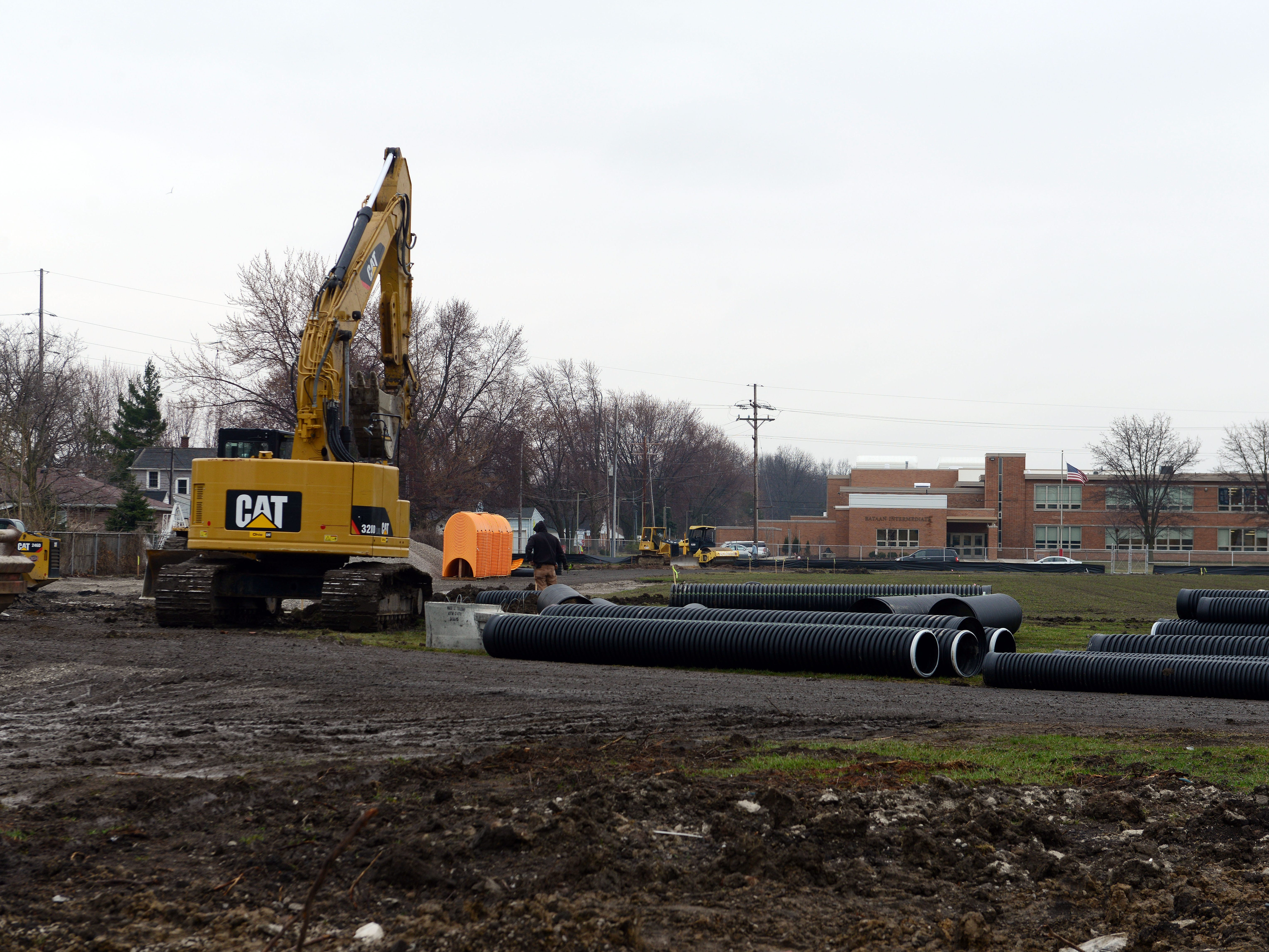 Port Clinton's track team does not have a place to practice because of construction.