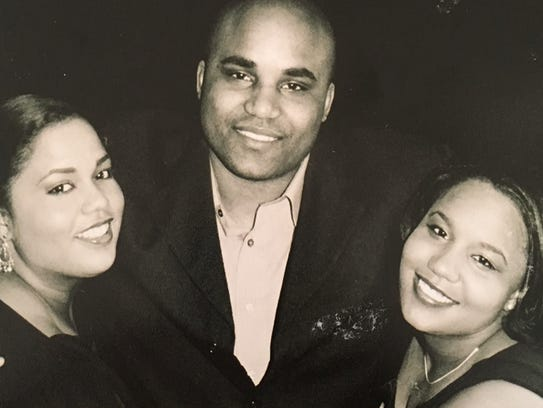 The Gragg siblings - Mavis (left), Harold and Monica