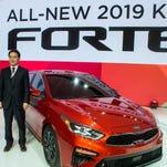 Detroit auto show photos: 2019 Kia Forte