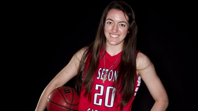 Julia Barcello made the high school girls basketball Division II all-state team.
