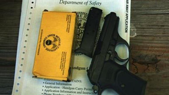 There are now more than 500,000 valid handgun permits