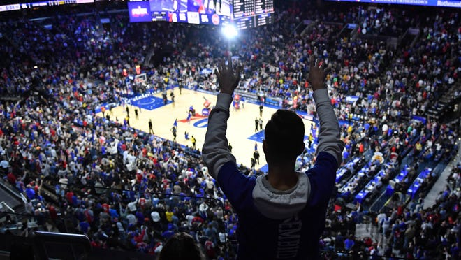 Fans won't be at NBA games once the season resumes next month, but league officials are keeping a close eye on the rising number of positive tests in Florida.