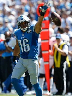 Lions wide receiver Lance Moore