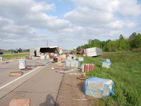 Chippewa Falls trucker died in crash near Edgar