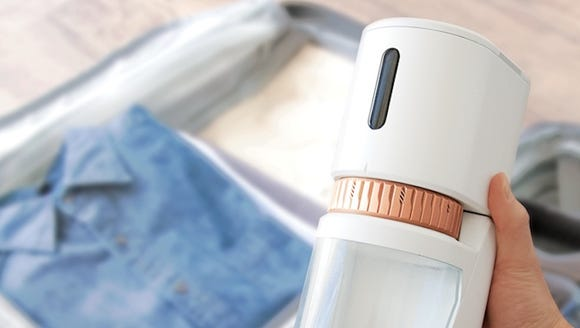 The Voltaire Smart Grinder is a portable, battery-powered