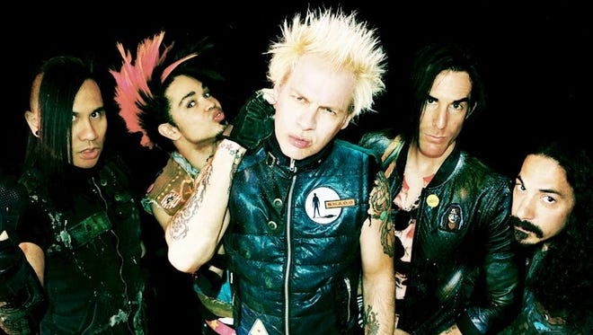 """Touring in support of its new disc """"New Wave,"""" Powerman 5000 headlines a five-band lineup tonight at the Top Deck in Farmington."""