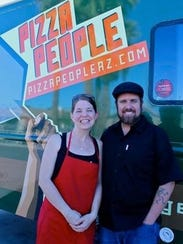 MaryBeth and Tim Scanlon opened Pizza People Pub in