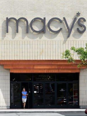 Macy's at Meadowood Mall in Reno on Aug. 22, 2016