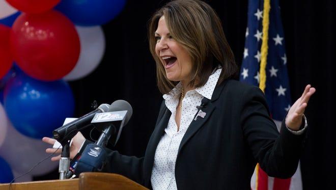 Arizona State Senator Kelli Ward.