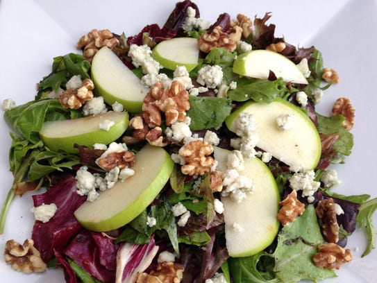 Add nutritious oils and vinegars to simple salads to
