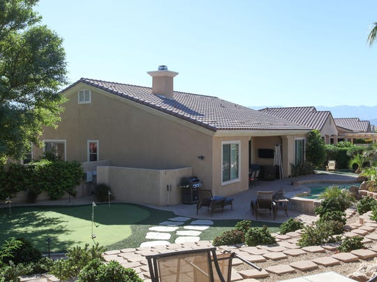 Homes in the Sun City Shadow Hills development in Indio,