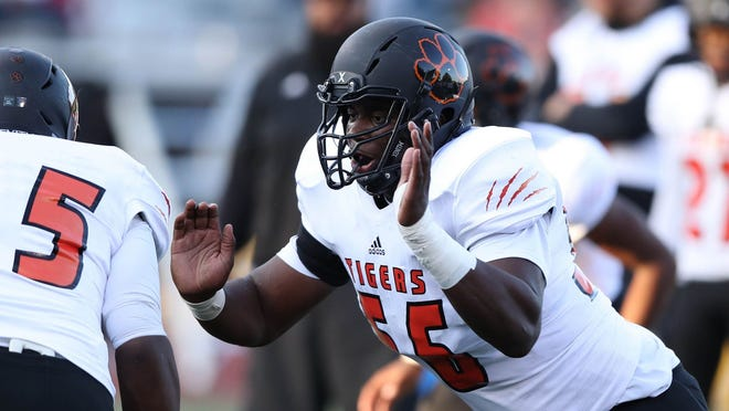 Belleville offensive tackle Devontae Dobbs is among the most acclaimed recruits of the Mark Dantonio era.