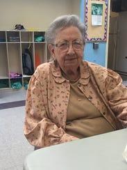 Floella Edington, 93