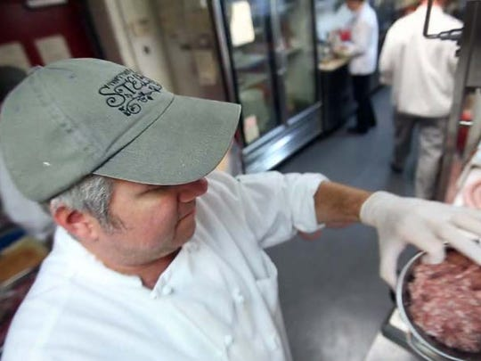 Myles Anton, executive chef and co-owner of Trattoria