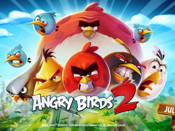 Promo art for 'Angry Birds 2.'