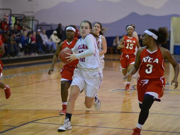 Tess Harris averaged a team-high 16 points a game for the NCISAA 2-A champion Carolina Day girls last season.