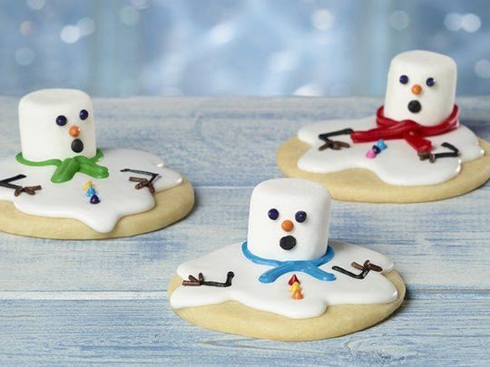 These adorable winter treats inspire the child inside all of us to spend time in the kitchen during winter break from school.