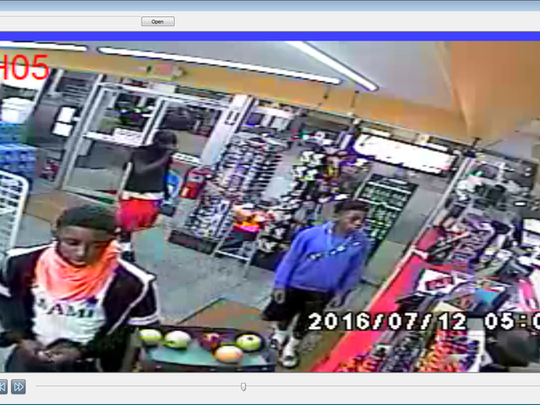 Police in Cocoa released a photo of possible suspect(s) in vehicle thefts.