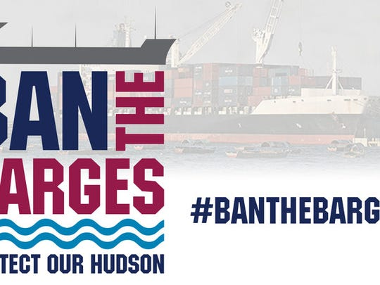 Logo for social media campaign to protect the Hudson River