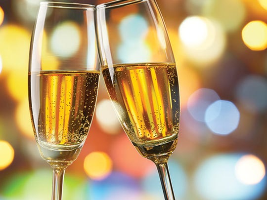 Toast the season. Sparkling wine, champagne and sparkling cider are holiday musts. You can also dress the drinks up for festive color and flair.