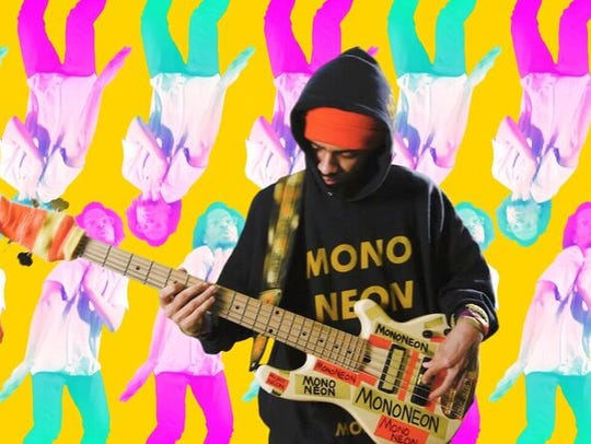 "Noah Glenn's video for ""Neon Lift-Off"" by IMAKEMADBEATS"