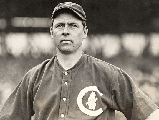 Brown is most famous for his work in Chicago's 1907 and 1908 Word Series wins. Photo courtesy of Mordecai Brown Legacy Foundation.
