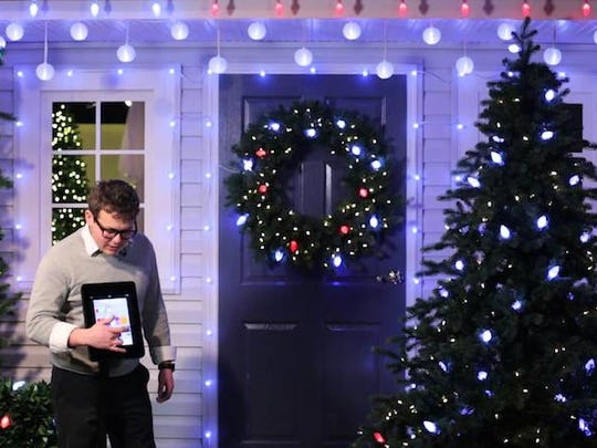 Deck the halls with high-tech holiday lights