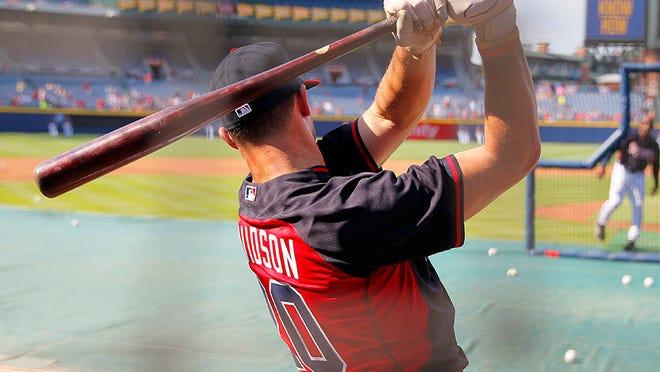 Roberson alum Braxton Davidson now plays minor-league baseball in the Atlanta Braves organization.