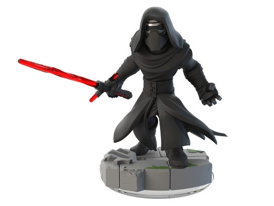 """Kylo Ren's appearance in the first """"Star Wars: The"""