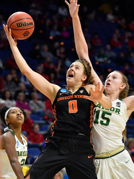 NCAA Womens Basketball: NCAA Tournament-Lexington Regional - Baylor vs Oregon State