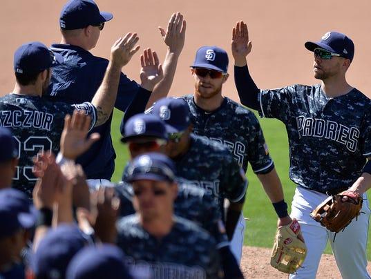 USP MLB: ARIZONA DIAMONDBACKS AT SAN DIEGO PADRES S BBN SD ARI USA CA