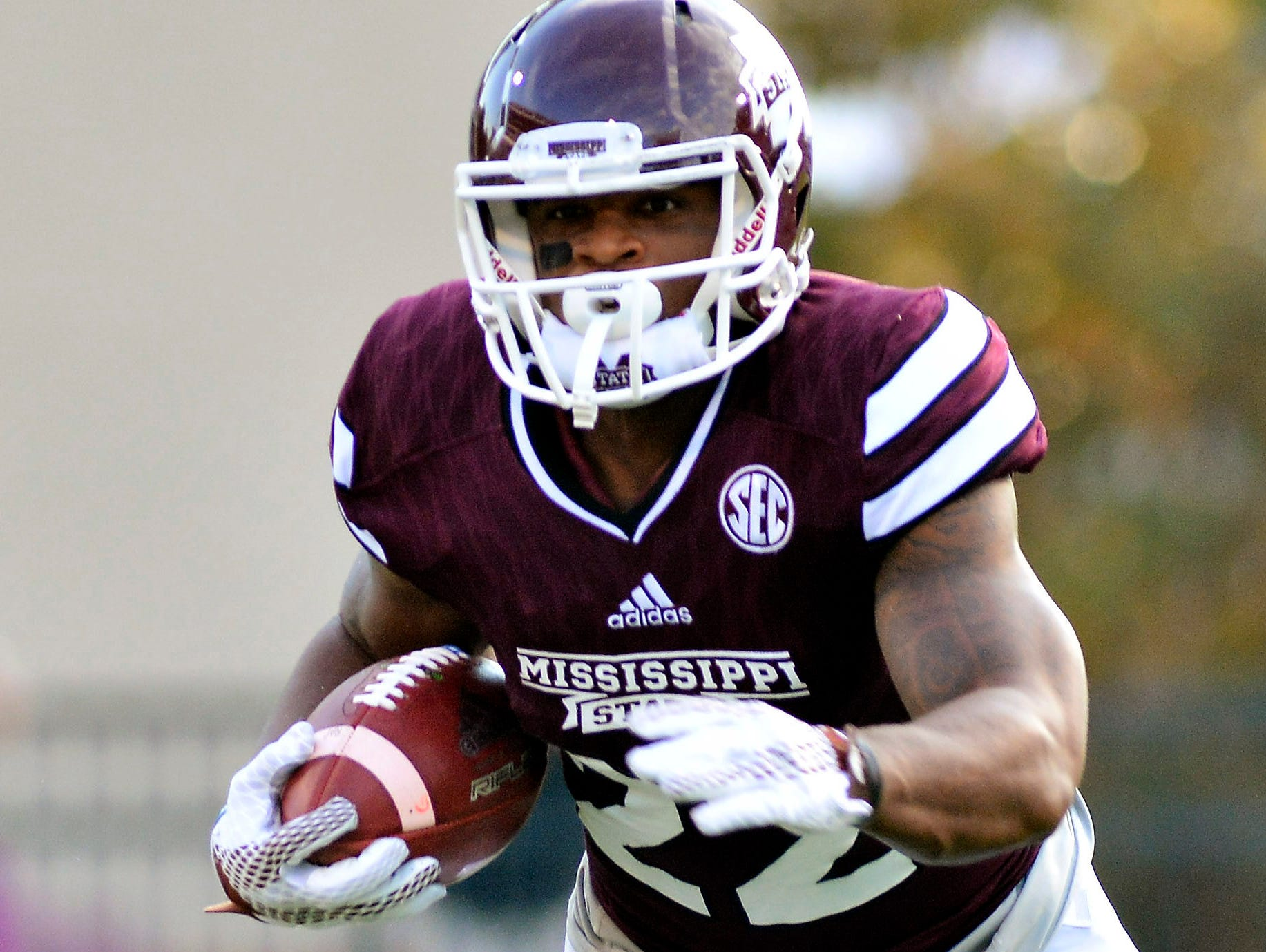 Mississippi State wide receiver Malik Dear and his team are just outside the top 25 in both polls.