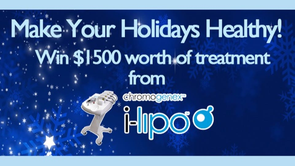 Make Your Holidays Healthy Sweepstakes